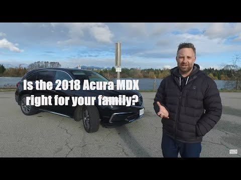 2018 Acura MDX review from Family Wheels