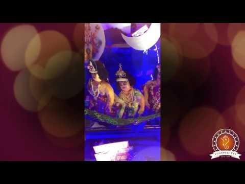 Moushami Saraf Home Ganpati Decoration Video