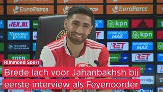 Jahanbakhsh: 'Toen ik hoorde van de aanbieding van Feyenoord was er geen twijfel'