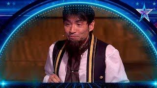 Este MAGO JAPONÉS vuelve a ROBAR DINERO a Risto Mejide   Semifinal 2   Got Talent España 5 (2019)