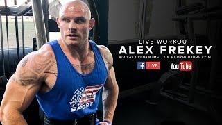 Biceps & Triceps Workout for Mass | Alex Frekey by Bodybuilding.com