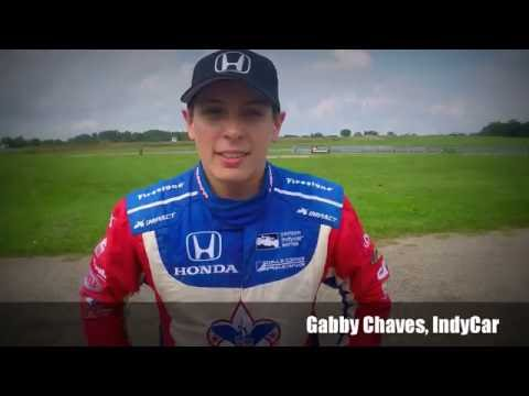 Gabby Chaves Tests F4 US Car