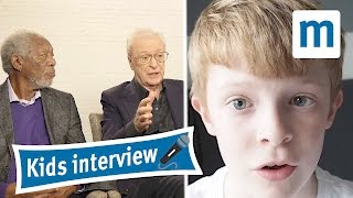 Morgan Freeman and Michael Caine answer kids questions
