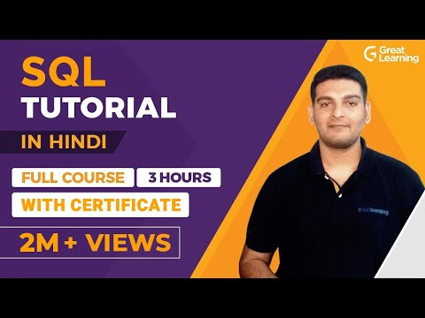 SQL Tutorial For Beginners In Hindi | SQL Full Course In Hindi
