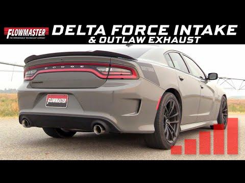 2011-19 Mopar Cars 6.2L/6.4L - Delta Force Cold Air Intake, Outlaw Cat-back Exhaust System