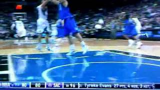 Dirk Nowitzki Throws Ricky Rubio Down 1/1/12