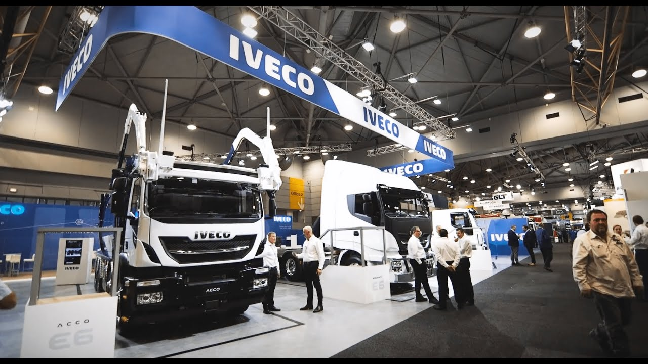 IVECO at 2021 Brisbane Truck Show.