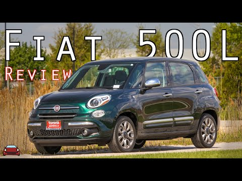 2018 Fiat 500L Lounge Review - Better, But Not The Best