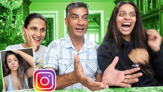 MY REAL PARENTS REACT TO MY INSTAGRAM PICTURES PT. 2