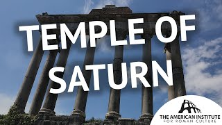 Temple of Saturn: The Last Pagan Temple - Ancient Rome Live