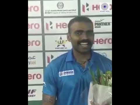 Video: Indian goalkeeper makes 200th appearance for hockey team in Oman