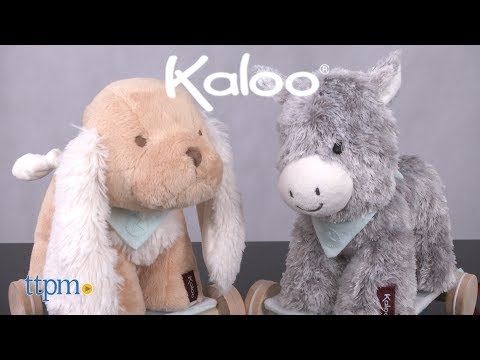 2-in-1 Pull Along Puppy & Donkey from Kaloo