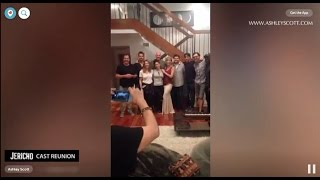 Jericho Tv Show 10 years cast reunion.