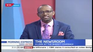 The National budget and how it affects our day to day lives   The Newsroom