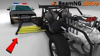 POLICE CAR GRABBER - BeamNG.drive
