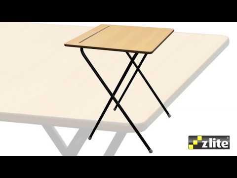 Zlite Secondary School Exam Desk with Folding Legs - Radius Office