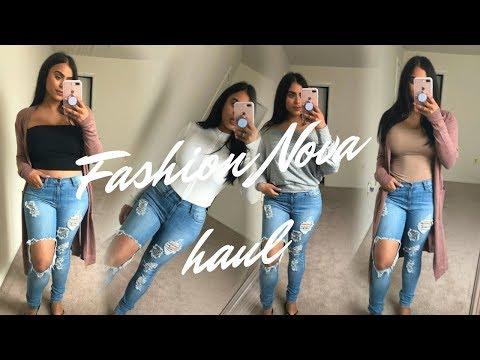 Fashion Nova Try On Haul | Fall 2018