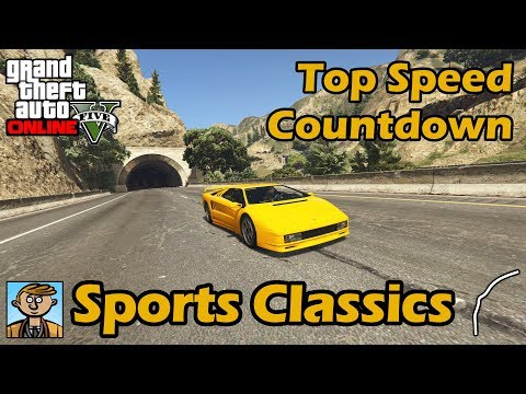 Fastest Sports Classics (2018) - GTA 5 Best Fully Upgraded Cars Top Speed Countdown
