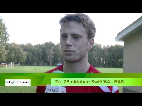 VIDEO | Voetbalderby Swift'64 - BAS leeft in Swifterbant meer dan in Biddinghuizen