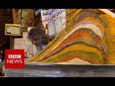 Iran sanctions: The view from the bazar  - BBC News