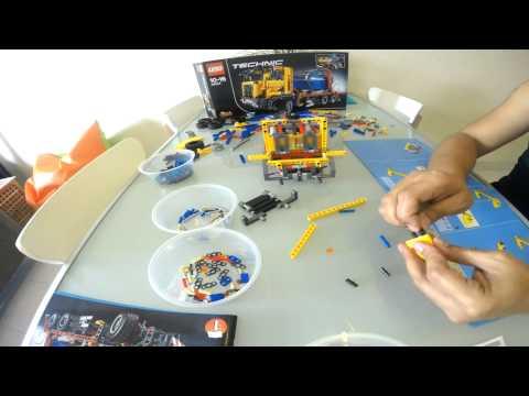 Vidéo LEGO Technic 42024 : Le camion conteneur