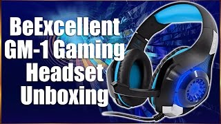 BeExcellent GM 1 Gaming Headset Unboxing