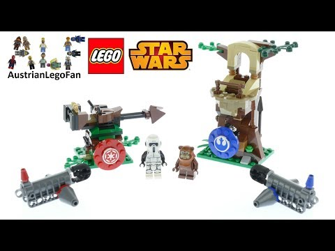 Vidéo LEGO Star Wars 75238 : Action Battle L'assaut d'Endor
