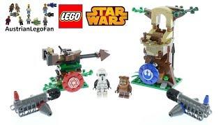 Lego Action Battle Endor Assault - Lego Star Wars 75238 Speed Build