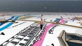 WelcAR - реальный человек в 3D игре (прототип)