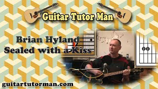 Sealed With A Kiss - Brian Hyland - Acoustic Guitar Lesson