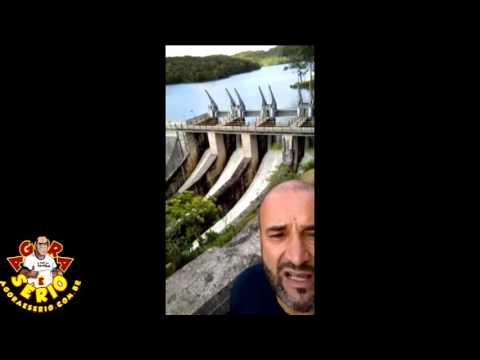Vídeo Celular - Edson da Câmara mostra a Usina Hidrelétrica França (Juquitiba)