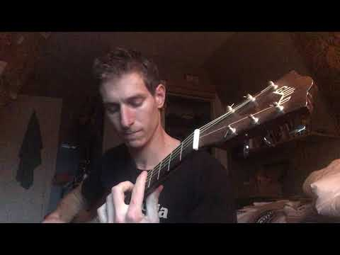 """Acoustic guitar performance of the song """"Little Martha"""" by The Allman Brothers"""