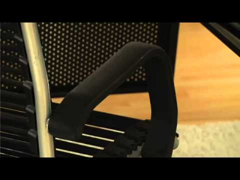 Video for Bungie Black Aluminum High Back Office Chair