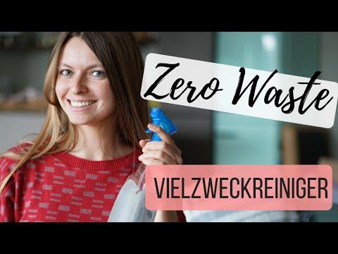 Haushaltsreiniger selber machen | ZERO WASTE | Lilies Diary