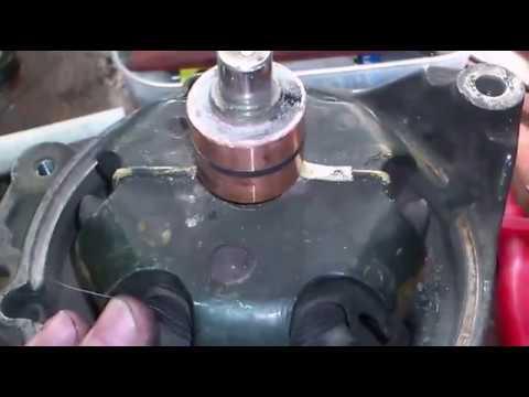 Ремонт генератора Bosh. Замена коллектора. Alternator Repair.