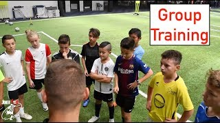 GROUP TRAINING SESSION at Elite Football Centre | Joner 1on1 | Private lessons