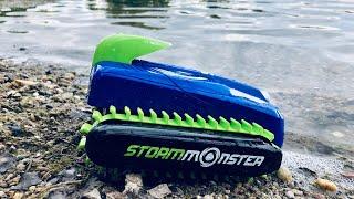 Revell Control Storm Monster - RC Amphibienfahrzeug für Kinder - Wasser & Land Outdoor Test