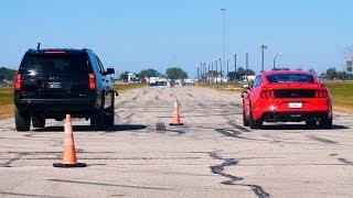 650 HP Tahoe RST vs 460 HP Mustang GT