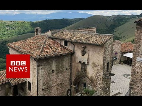 Reviving Italy's ghost towns with an unusual hotel - BBC News
