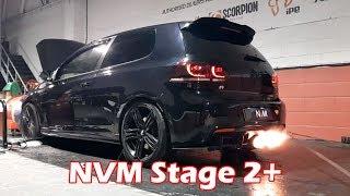 *FLAMING* VW Golf R MK6 Stage 2 Plus with NVM Overrun - NV Motorsport