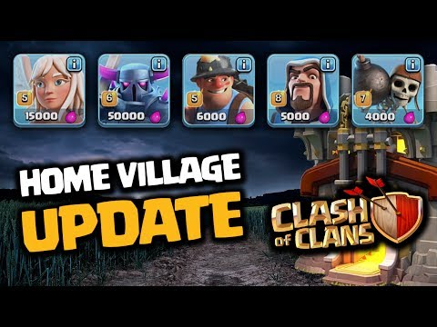 NEW CLASH OF CLANS UPDATE GAMEPLAY