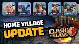 New troop levels new defense levels balancing and more Coming soon to a Village near you: