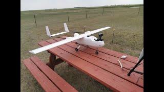 Skyhunter FPV 1.8M LOS flight using Herelink with Pixhawk Orange Cube