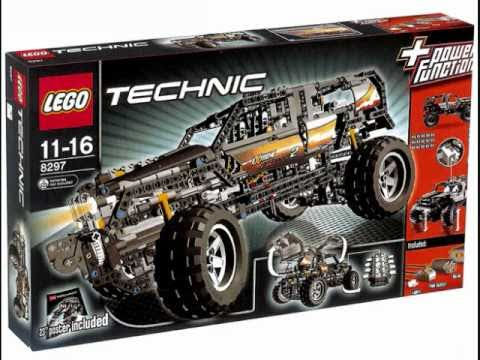 Vidéo LEGO Technic 8297 : Le 4x4 motorisé