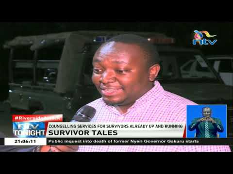 Riverside survivors narrate their first hand experiences