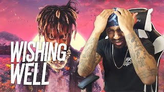 Man 😢 | Juice WRLD - Wishing Well (REACTION!!!)