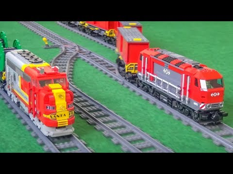Awesome LEGO® Trains! RC Model Trains! Fantastic Compilation!
