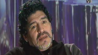VIDEO  El deseo de Maradona con la selección de Argentina DM935