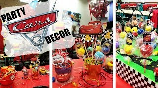 DISNEYS CARS 3 BIRTHDAY PARTY DECOR | DIY | FUN IDEAS