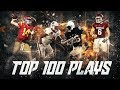 Top 100 Plays of the 2017-2018 College Football Season